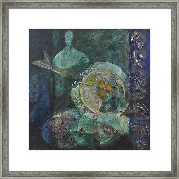 Shabbat Framed Print