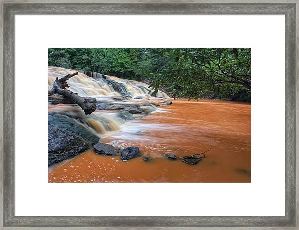 Shacktown Falls Framed Print