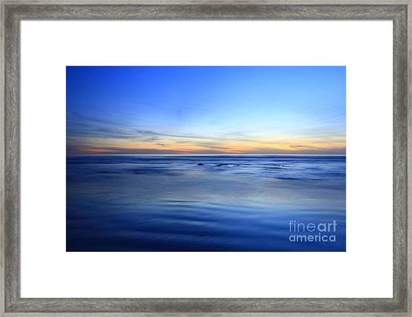 Rocks In Surf Canvas 30x40 Print On Sale Carlsbad Framed Print