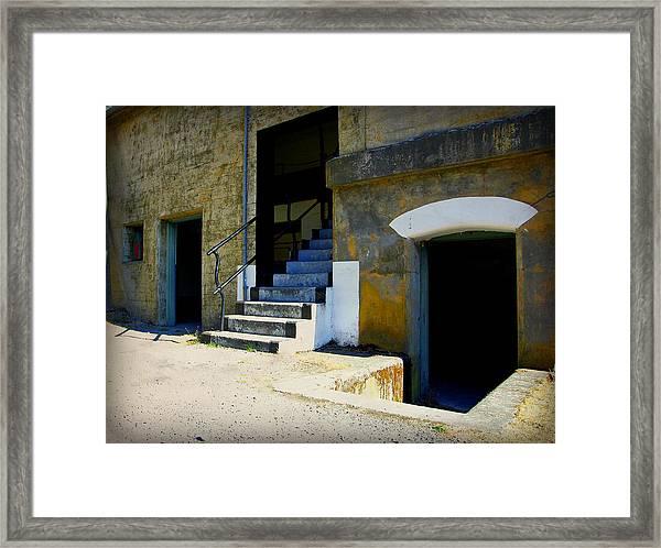 Shades Of The Past Framed Print