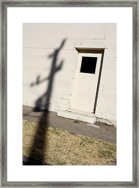 Shadow Arrival 2011 Framed Print