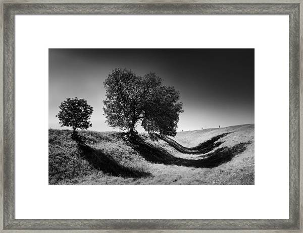 Shadow Time Framed Print