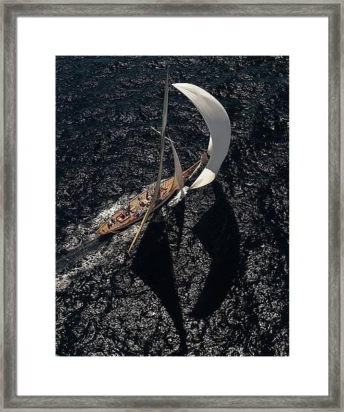 Shadows & Lights Framed Print