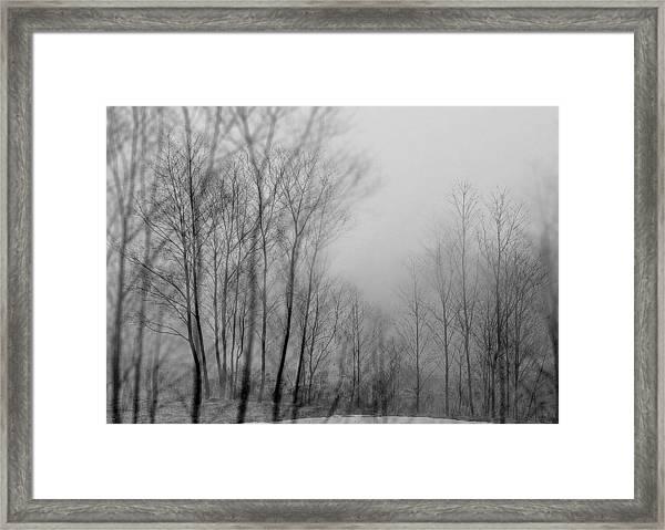 Shadows And Fog Framed Print