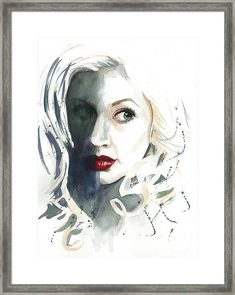 Shadows Of The Past Framed Print