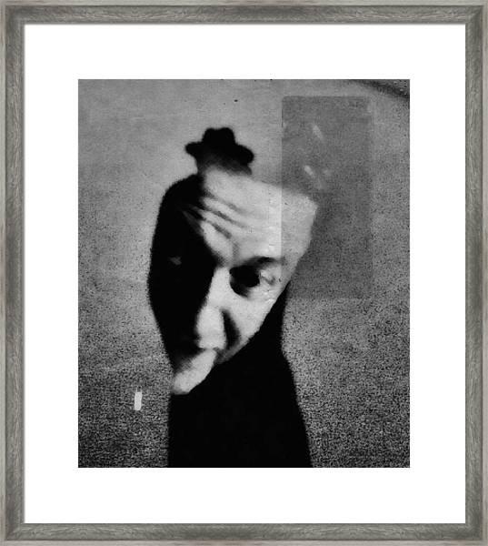 Shadows (portrait) Framed Print
