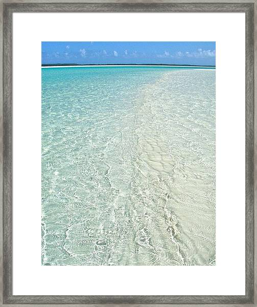Shallows At Joe's Framed Print