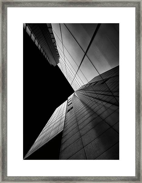 Shapes Of Light Framed Print