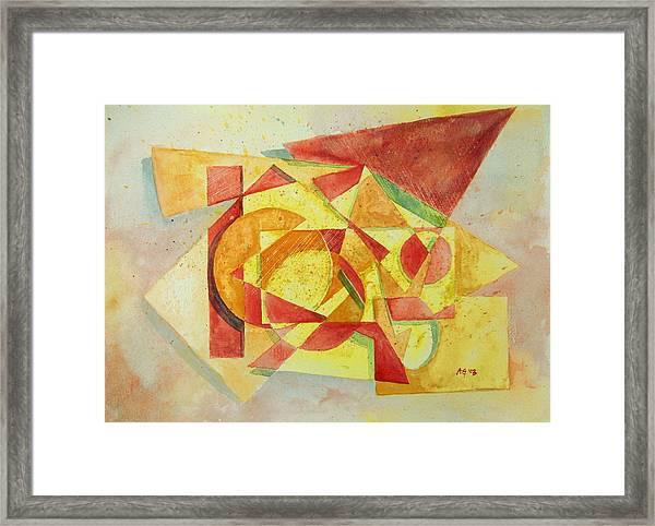 Sharp Edges Framed Print