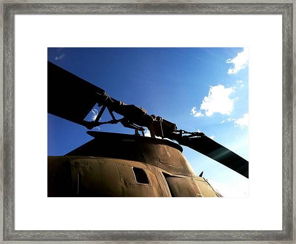 Sharp Wind Framed Print