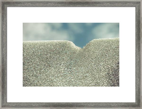 Shattered Summer Day Framed Print