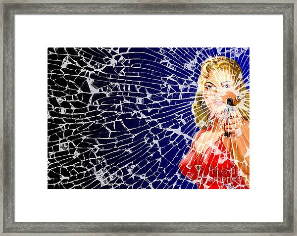 Shattered Wideshot Framed Print