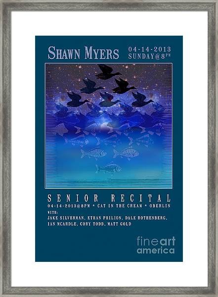 Shawnmyers13 Framed Print