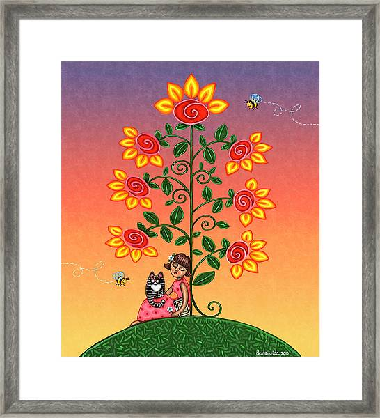 She Is Life Barnes And Noble Framed Print