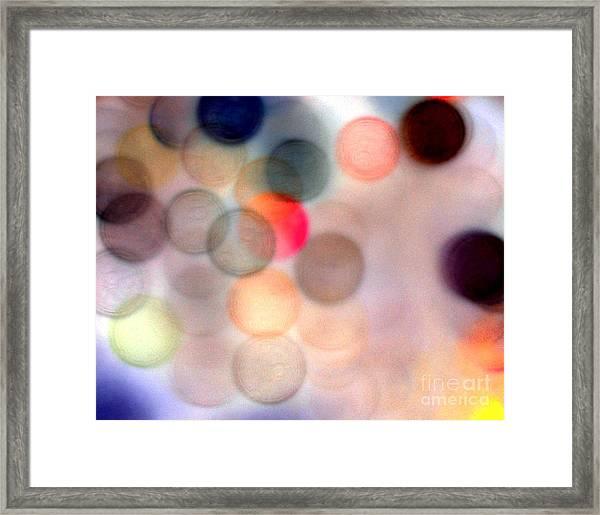 She Lights Up The Room Framed Print