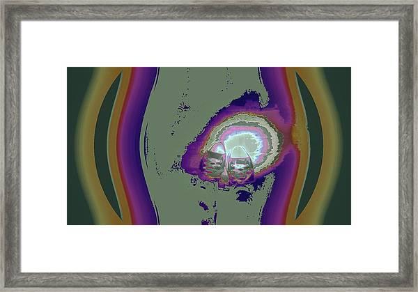 She Radiates Anticipation Framed Print