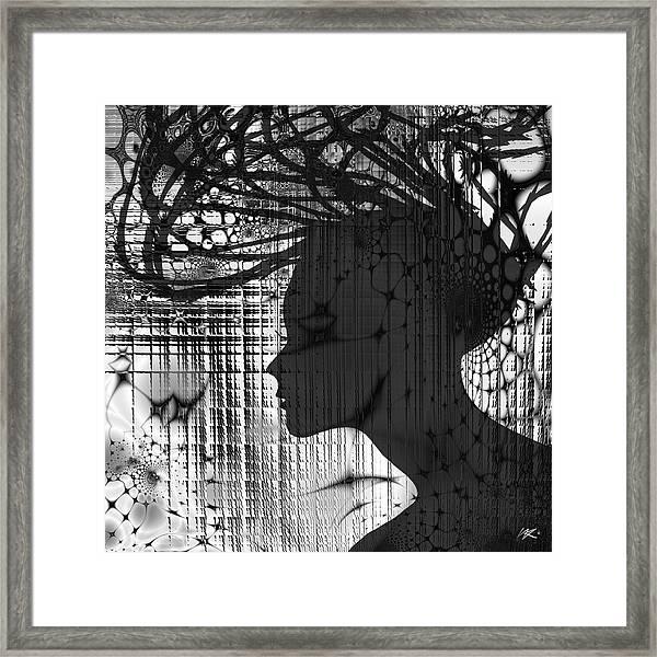 She Rocks Framed Print