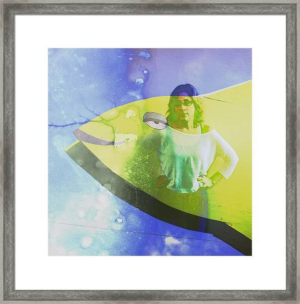 Sheebang Framed Print