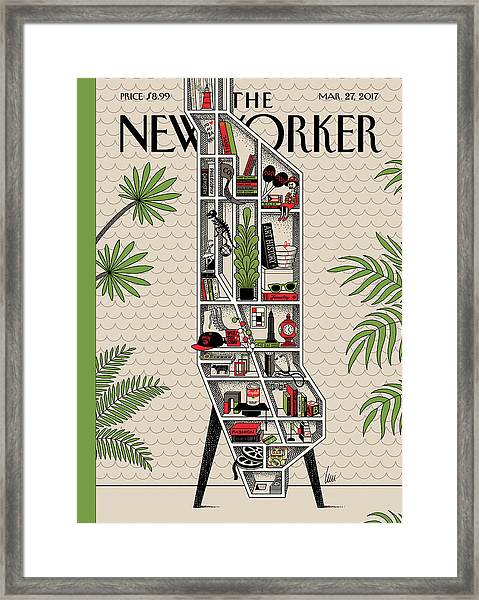 Shelf Life Framed Print