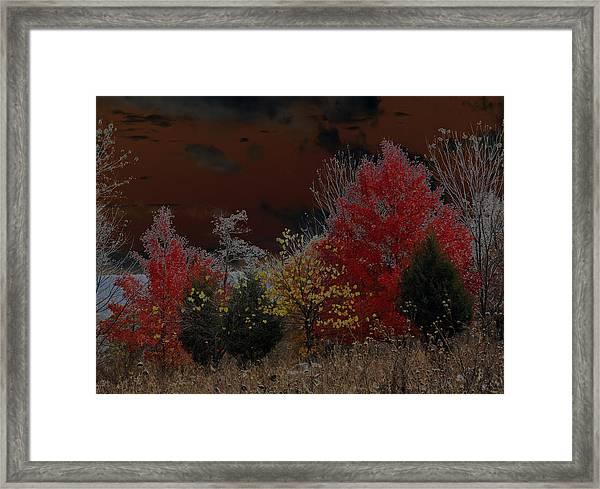 Shenandoah Autumn Framed Print
