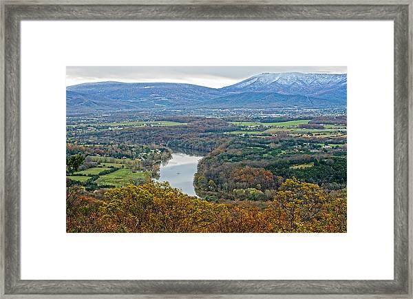 Shenandoah Fall And Winter Framed Print
