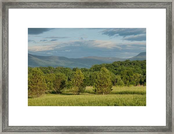 Shenandoah Valley May View Framed Print