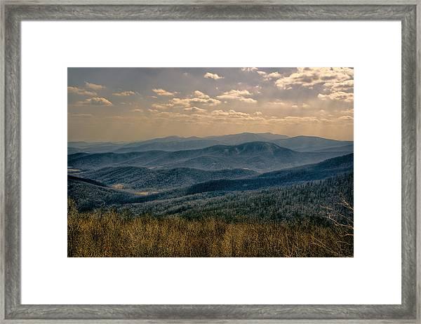 Shenandoah Vista Framed Print