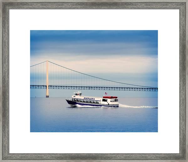 Shepler's Ferry Line Framed Print