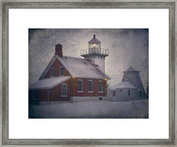 Sherwood Point Light Framed Print