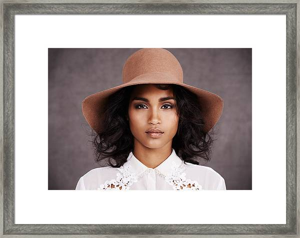 She's Got Style Framed Print by PeopleImages
