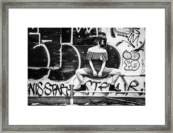Shibuya Street Framed Print