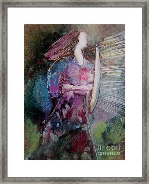Shield Of Faith Framed Print