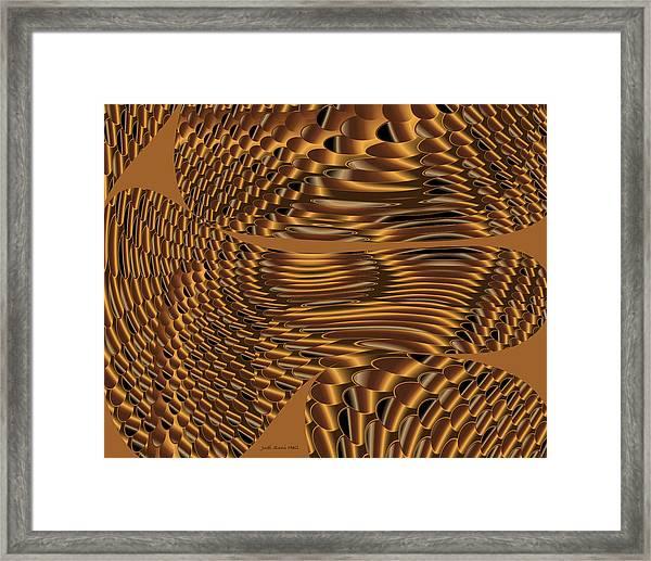 Shifting Shoals Framed Print