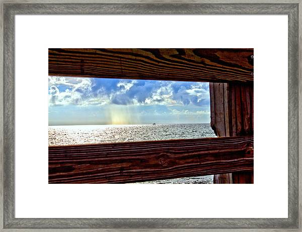 Shine It Down Framed Print