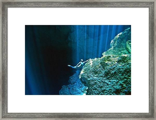 Shine Framed Print by One ocean One breath