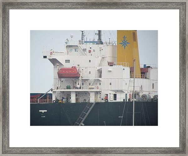 Ship Structure Framed Print