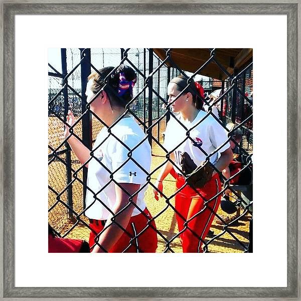 #shippensburg #ntc #softball #clermont Framed Print