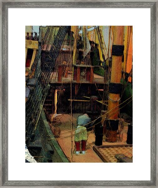 Ship's Carpenter Framed Print