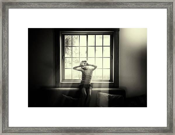 Shira Framed Print