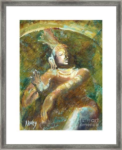 Shiva Creator Destroyer Framed Print