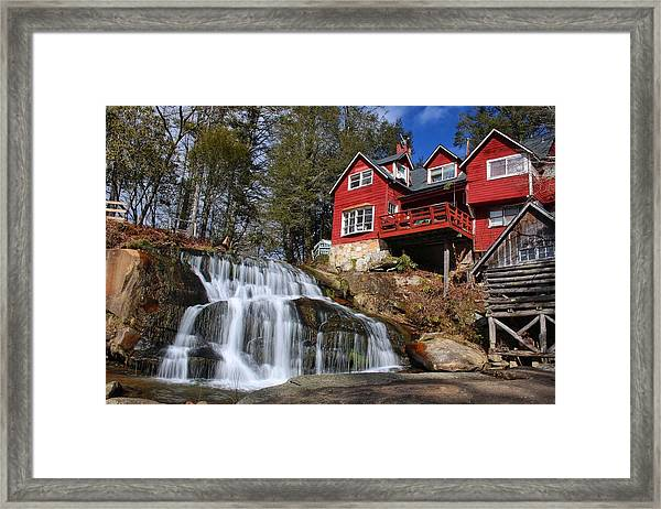 Shoal Creek Falls  Framed Print