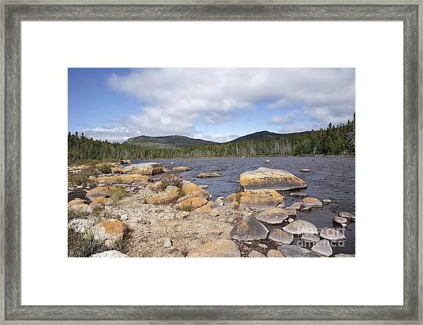 Shoal Pond - Pemigewasset Wilderness New Hampshire Usa Framed Print