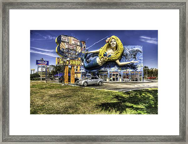 Shop Front Floriday Framed Print by James Dunn