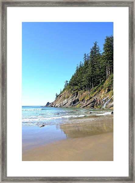 Short Sand Beach Framed Print