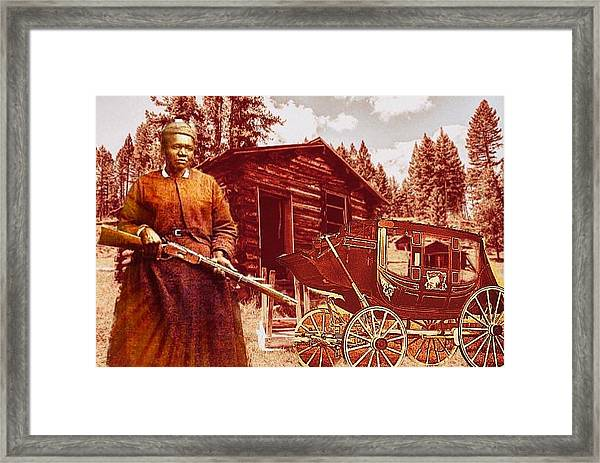 Shotgun Mary Framed Print