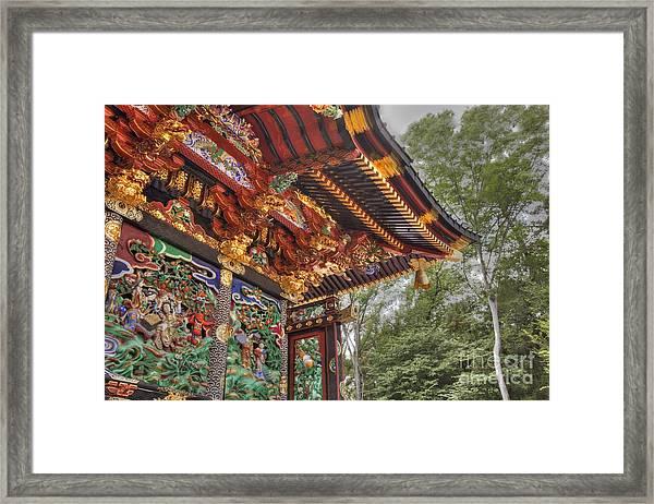 Shoutenguu Framed Print by Tad Kanazaki