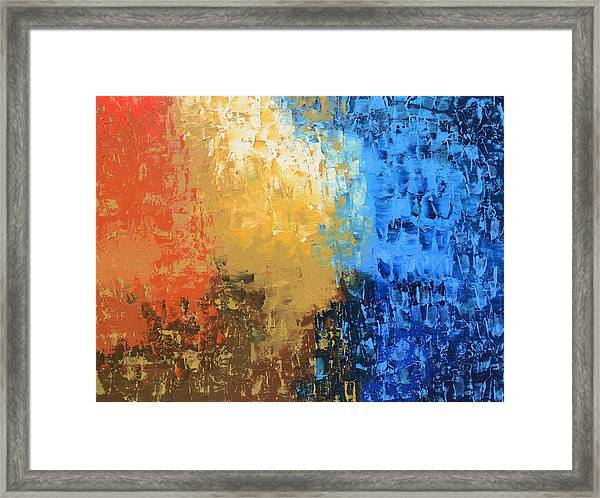 Show Me Your Glory Framed Print