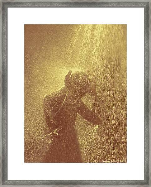 Showers Of Blessings Framed Print