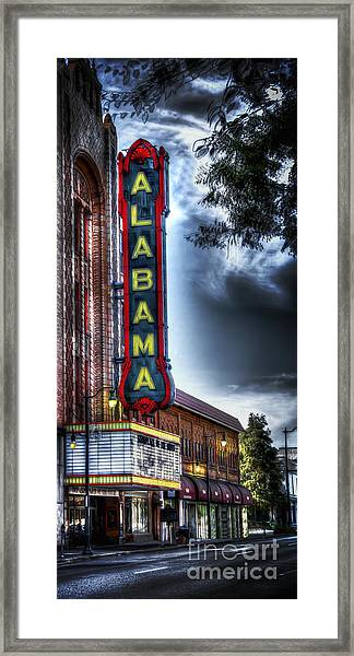Showplace Of The South Framed Print