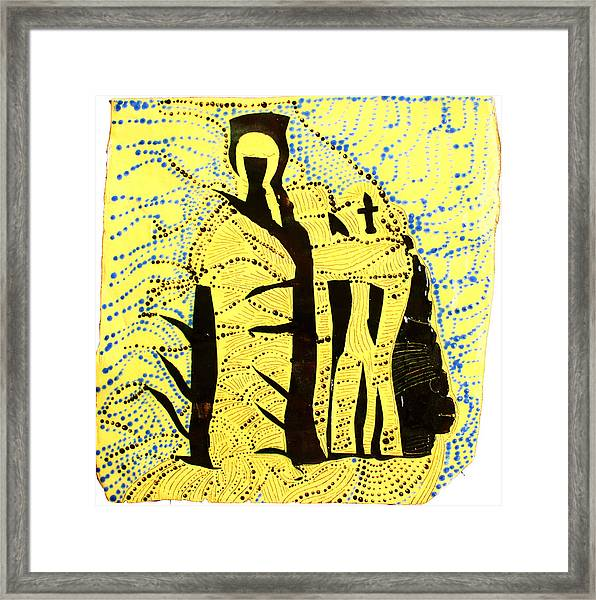Shroud Of Jesus Framed Print